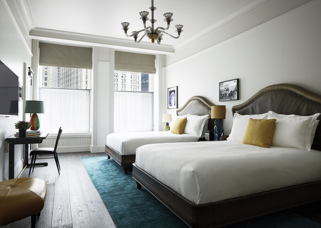 Double Queen Thompson Hotels - Schlafzimmer donna