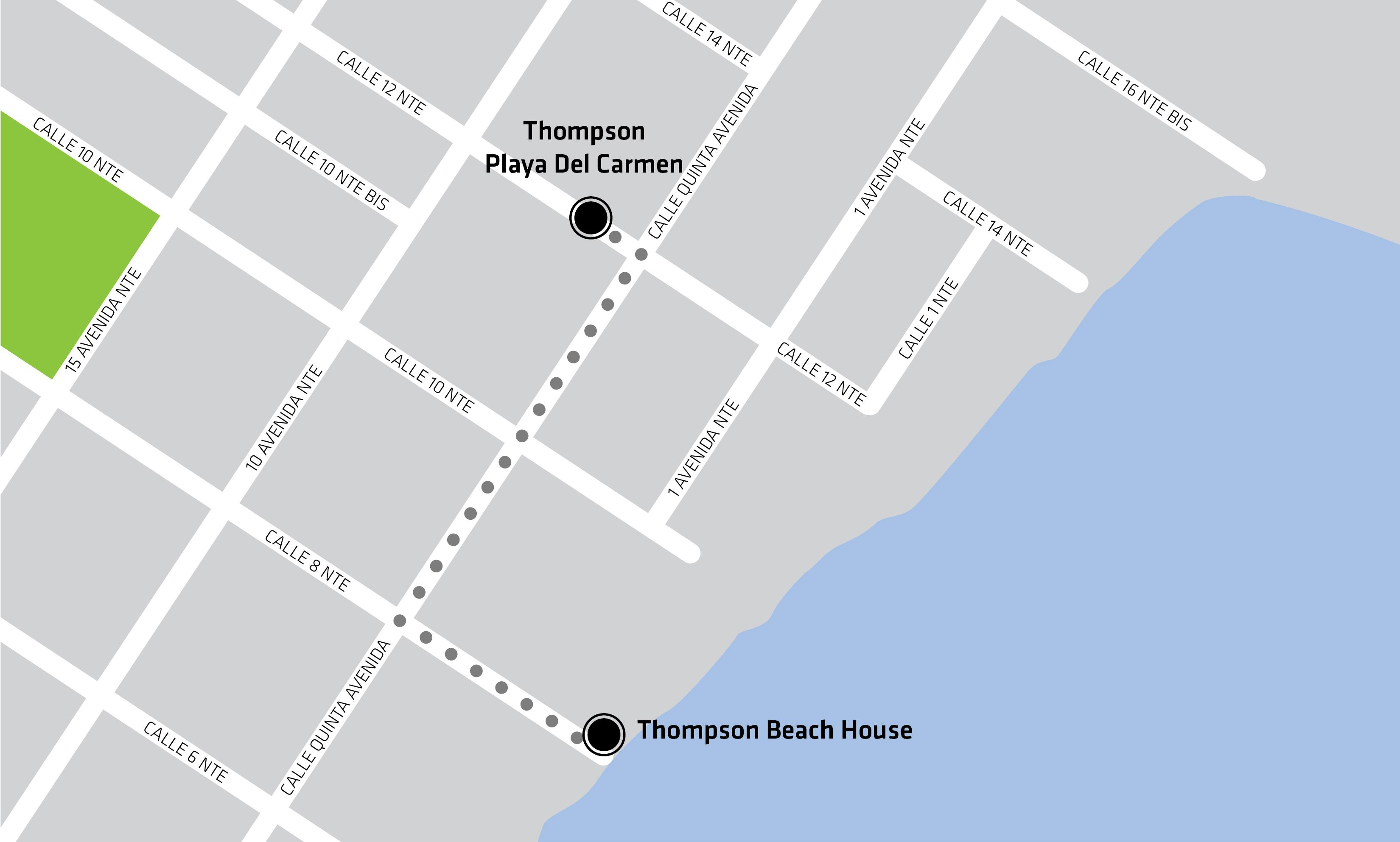 Playa del Carmen Beachfront Luxury Hotel Suites Thompson Playa del