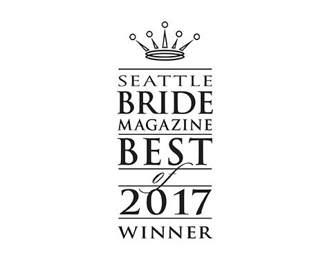 logo fro seattle bride magazine best list