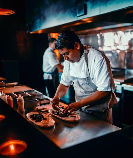 Chef Abisai Sanchez, The Cape