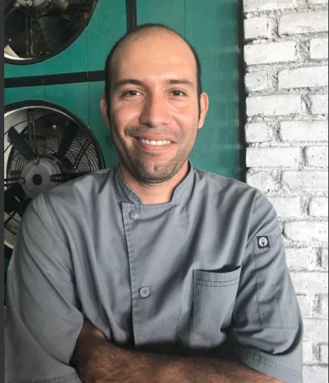 Chef Edder Cisneros, Thompson Playa del Carmen