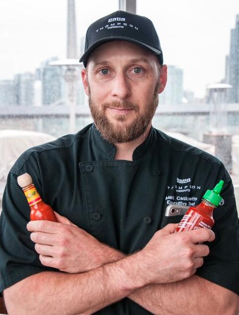 Chef Mark Caskanette, Thompson Toronto