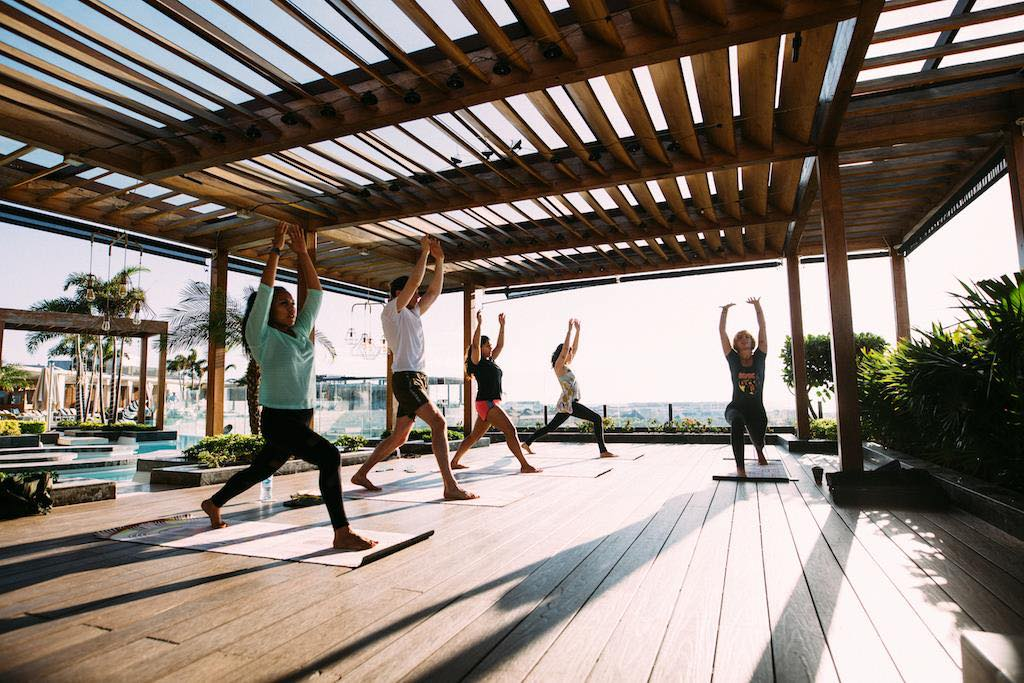 Rooftop Yoga at Thompson Playa del Carmen