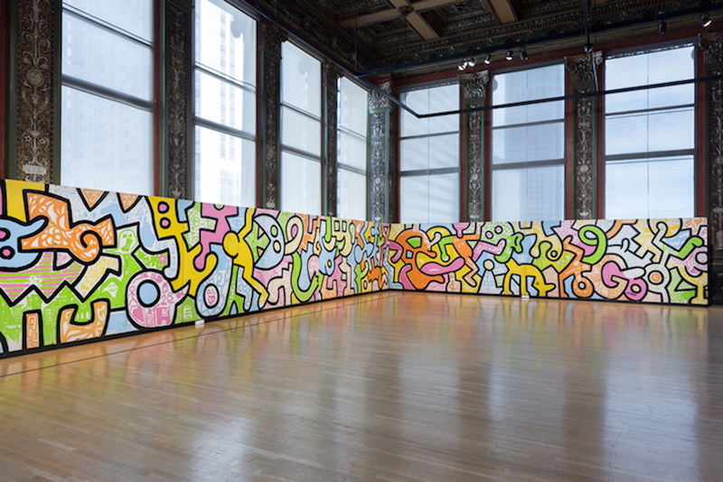 Keith-Haring-Chicago-Art-Mural-summer