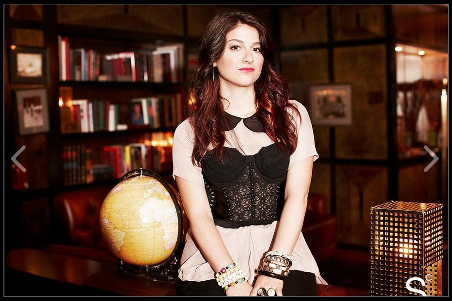 Kristina Marino, Mirrorball Downtown Diaries, Photo c/o Stylecaster