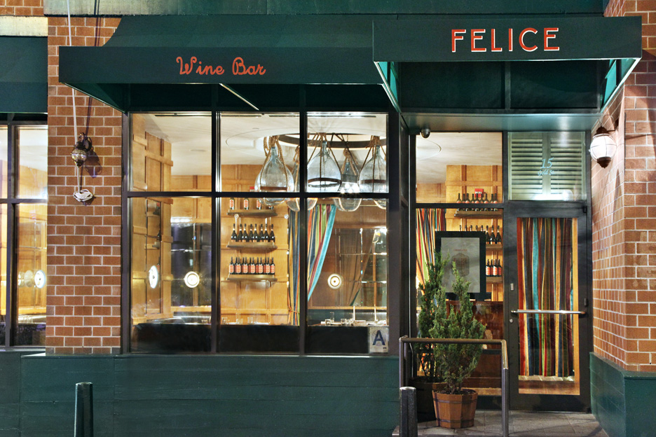 Felice Ristorante & Wine Bar Exterior