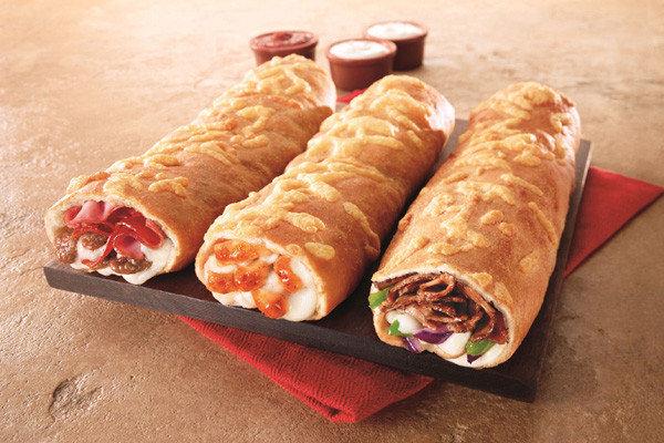Pizza Hut's P'Zolo sandwich