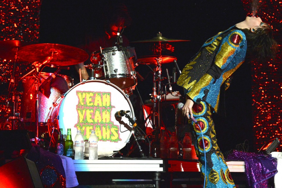 Yeah Yeah Yeahs perform in Brooklyn