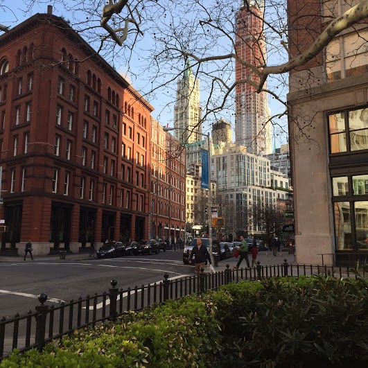 City Stories: Tribeca in the Spring during The Tribeca Film Festival
