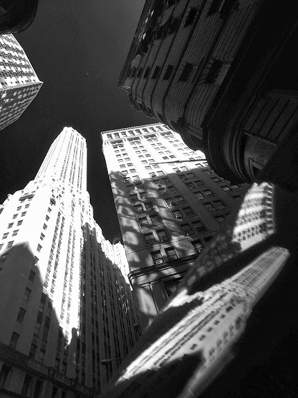 Cinematic City: Looking up in Lower Manhattan