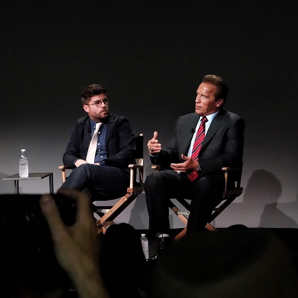 Director Henry Hobson & Arnold Schwarzenegger