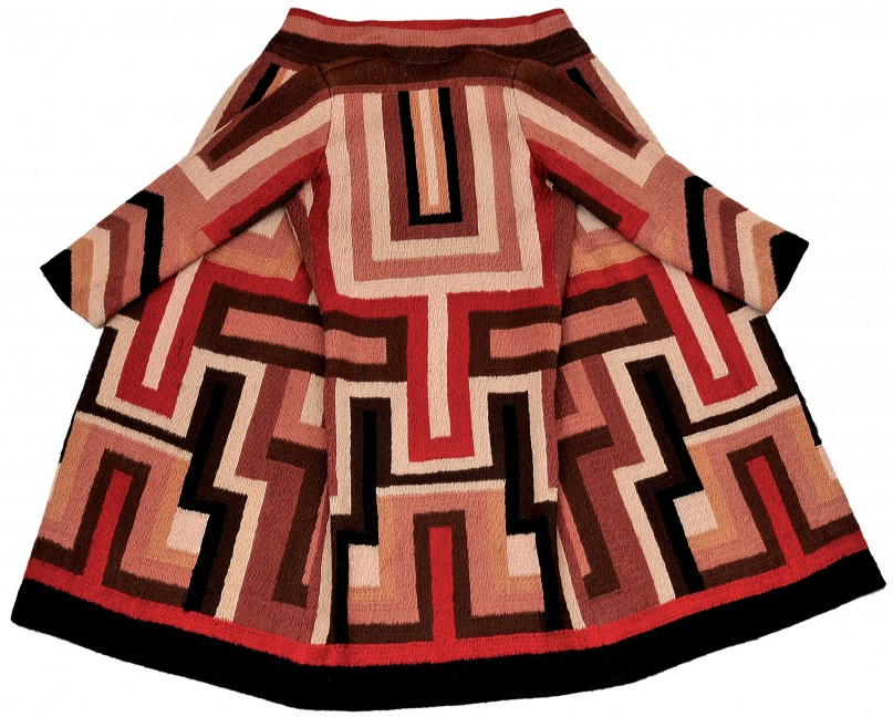 Sonia Delaunay Coat made for Gloria Swanson 1923-24Private Collection© Pracusa 2014083
