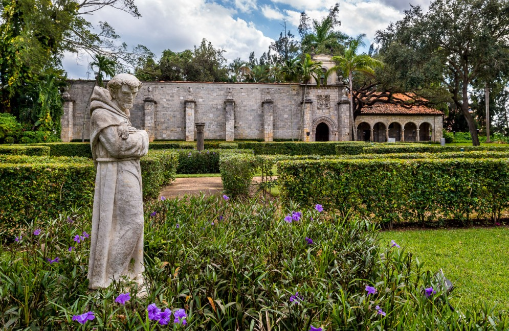 St. Francis and Monastery Gardens