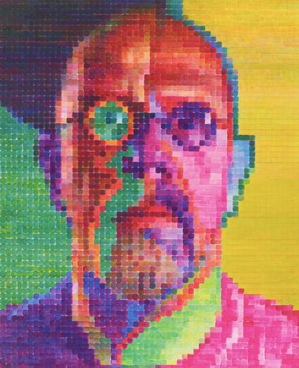 Self-Portrait I, 2014, oil on canvas, 101-7/8