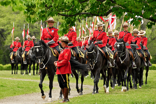 Historical reanactment at Fort York Courtesy Live With Culture