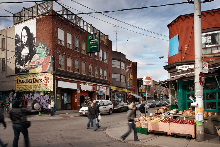 Kensington Market courtesy Live Work Explore Toronto