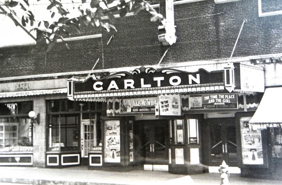 The Historic Carlton Cinema Courtesy Taylor on History