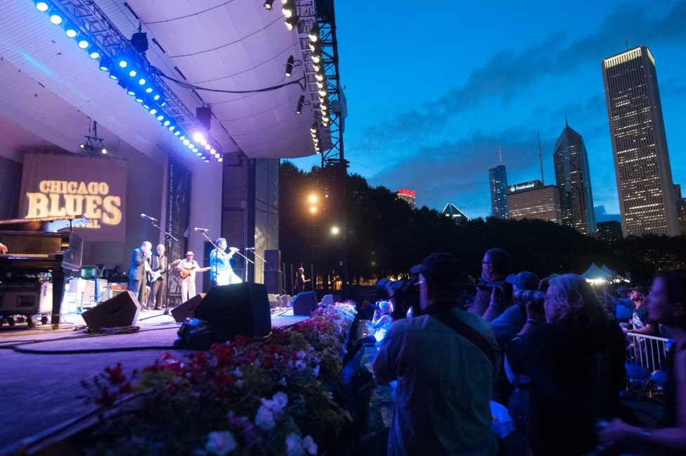 Photo Credit: Chicago Blues Festival