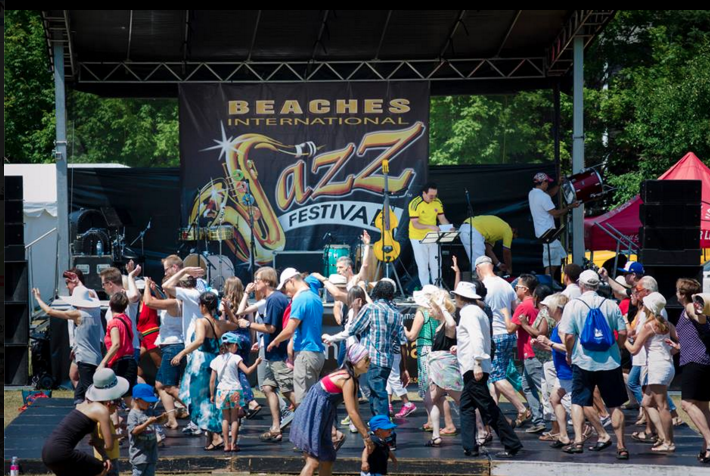 Courtesy of Beaches International Jazz Festival