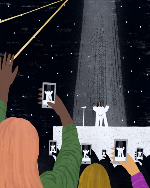 Rihanna Concert by Sandi Falconer